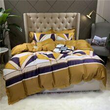 60S Egyptian Cotton Bedlinen Bedclothes Bedcover Fashion Duvet Cover Bedding Set