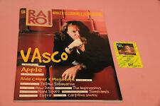 """RARO RIVISTA DISCOGRAFIA VALUTAZIONE LP 7"""" CD N° 104 NEW DADA VASCO ROSSI + CARD"""