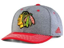 Chicago Blackhawks NHL adidas Heather Line Change Snapback Hat