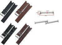 Genuine leather strap band (fits) Calvin Klein sight K1S21120 K1S21102 KIS21100