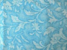 Vintage Tapestry Turquoise Fabric by Santee, 100% Cotton Fabric By The Yard