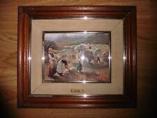 TABLEAU EN EMAUX 42 x 36 cm