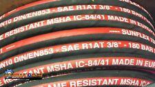 "Standard Hydraulic Hose 3/8""ID SAE100R1-06 1Wire 2610 PSI pressure 20 Meter Coil"