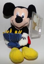 "Hanukkah Mickey Mini Bean Bag Plush 8"" Especially For Disney Store - New"