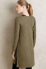 New Anthropologie Pure + Good Cowled Jersey Tunic Top Dress XS small