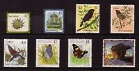 NEW ZEALAND....  Collection of 8 different stamps face value $2 to $10 used