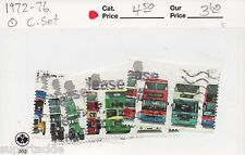 2001 Great Britain Sc #1972-7 Θ used fine set of London Double Decker Buses