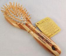 Cepillo de bambú ecológico saludable Cabello Olivia Garden De Masaje HH-1 Oval SMA