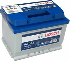 Bosch  Car Battery 12V 60Ah Type 075 540CCA 4 Years Wty Sealed OEM S4004