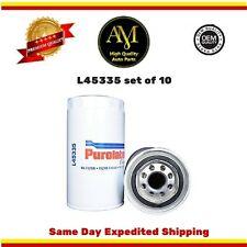 L45335 Oil Filter Set of 10 Ram 2500 3500 Dodge D250 Ram 3500 89/16 5.9L 6.7L