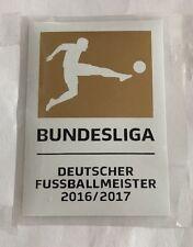 cb98629b5 Bundesliga 2016 2017 Champion Deutscher FussballmeisterPatch Badge Bayern  Munich