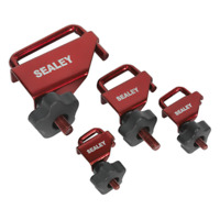 VS0301 Sealey Tools Hose Pinch Tool Set 4pc [Braking] Hose Pinch Tools