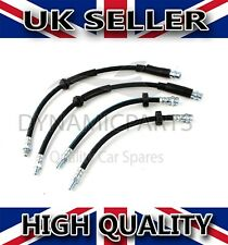 FORD MONDEO MK3 FRONT AND REAR BRAKE FLEXI HOSE PIPE KIT (2000-2007)