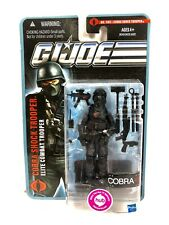 GI Joe Cobra Shock Trooper Action Figure Elite #1103 Hasbro 2010 MOC