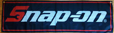 Snap-On Flag Garage Man Cave Automotive Snap On Tools Mechanic Banner 58X17 In