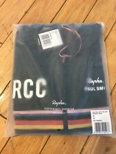 NEW Rapha RCC x Paul Smith Men Cycling Size L Pro Team Midweight Jersey