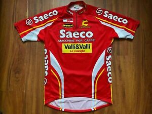 SAECO TEAM CYCLING JERSEY CANNONDALE SIZE 2XL