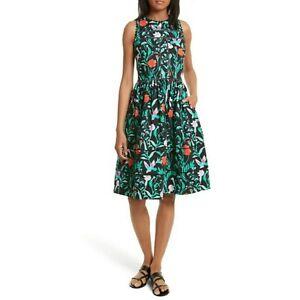 KATE SPADE New York Jardin Cotton Poplin Dress Womens size 0