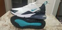 """New Nike Men's Air Max 270 G Golf Shoes """"Dusty Cactus"""" CK6483-100 Size 8"""
