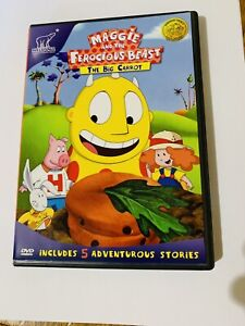 MAGGIE AND THE FEROCIOUS BEAST THE BIG CARROT DVD 2006