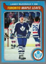 Set Break 1979-80 Topps Hockey Lanny Mcdonald #153 Toronto Maple Leafs GD360