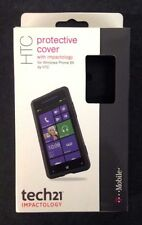 NEW T-Mobile D30 Protective Cover w' Impactology for HTC Windows Phone 8X BLACK