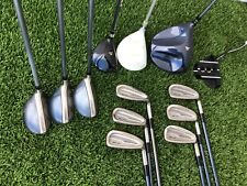 Complete Womens Golf Club Set Cobra Woods & Hybrids, Mizuno Tava Irons 13 Clubs