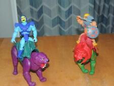 MOTU Origins 2020 Retro He-man and Battle Cat Skeletor and Panthor