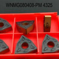 20pcs WNMG 080408-PM 4325 WNMG432 -PM 4325 Carbide inserts lathe tools CNC TOOL