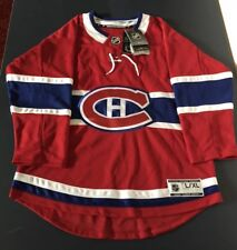 Montreal Canadiens NHL Offical Jersey Kids L/XL NWT