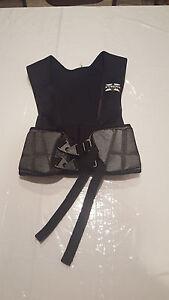 BIKE Athle Cycling Vest Size Small BRYV50 Football Hard Shell Rib Guard
