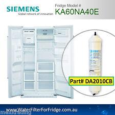 KA60NA40E Siemens Bosch Fridge Model External Compatible External Water Filter