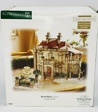 Department 56 Barrow Manor Dickens Village with Fountain 2007