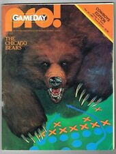 Dallas Cowboys Chicago Bears Football Gameday PRO Nov 26 1981 Vintage Program