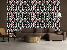 Ethnic Pattern Wallpaper Art Wall Mural Woven Self-Adhesive Modern Decor T46