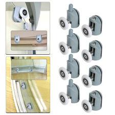 8 pcs. Shower Door  Rollers 25mm Roller Guide for Shower Cabinet Glass HF