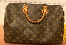 Authentic Vintage Louis Vuitton Monogram Speedy 35 Bag-Genuine LV Handbag used