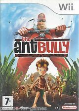 THE ANT BULLY for Nintendo Wii - with box & manual