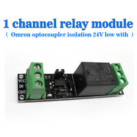 Single Channel 24V Relay Isolation Control Panel  Voltage Control low Voltage
