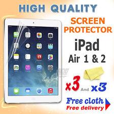 3 Nueva Película Protectora De Protección de pantalla de alta calidad de aluminio para Apple iPad Air 1 2
