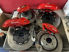 15 16 2017 18 2019 2020 Charger Srt 8 6 Piston Front Amp Rear Brembo Calipers
