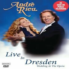 Andre Rieu: Live in Dresden - Wedding at the Opera (2009, REGION 0 DVD New)