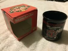 Manchester united Double champions 93/94 mug autographs with original box rare