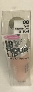 3 Sally Hansen 18 Hour Lip Treatment -CLEAR OPTIMISTIC OPAL 6518-08