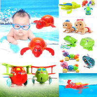 1 x Wind-up Cute Swimming Floating Turtle Toy Wind Up for Baby Kids Bathing Time