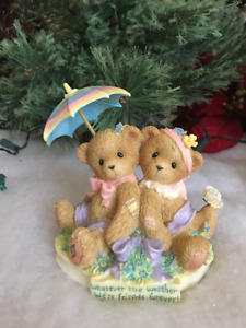 Cherished Teddies Abbey Press Whatever The Weather  2006 NIB  SIGNED Last One
