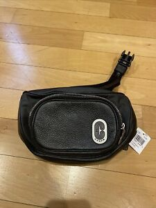 Authentic Coach Black Court Belt Bag NWT