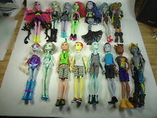 Monster High with Boy Dolls, Premium Lot - all have Shoes and Clothes 11.28