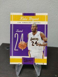 Panini Classics NBA basketball 2010-11 Kobe Bryant #17