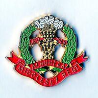 Enamel Lapel Badge Middlesex Regiment